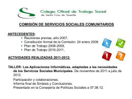 Servicios Sociales Comunitarios ()