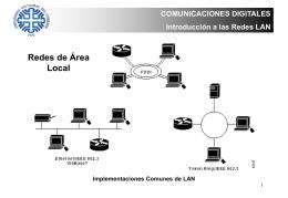 Redes LAN y Acceso al Medio