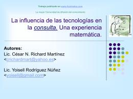 XV Forum de Ciencia y Técnica