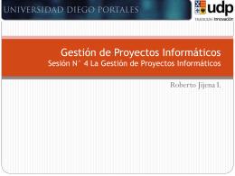 04 GPI_La Gestión de Proyectos Informáticos