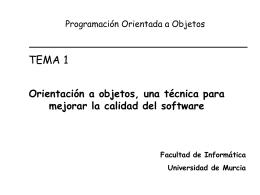 Módulo 1 - Departamento de Informática y Sistemas