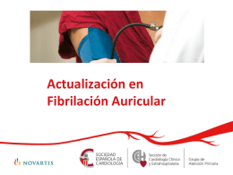 Guía formativa en Fibrilación Auricular