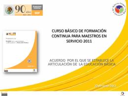Acuerdo - Articulacion2011Qro
