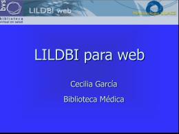 LILDBI para web