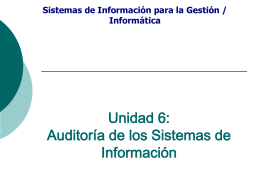 Auditoria de sistemas 2008
