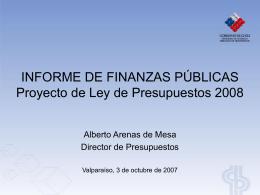 Recursos Públicos - Dirección de Presupuestos