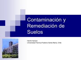 suelo - Ramos UTFSM - Universidad Técnica Federico Santa María