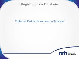 TRIBUNET ACTUALIZACION DE DATOS RUT 2014 NOILY