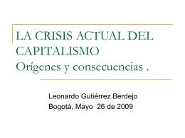 Expansión de la crisis