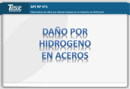 Daño por hidrógeno en aceros_agregar sesion 4