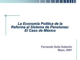 Fernando Solís - (FIAP) Federación Internacional de