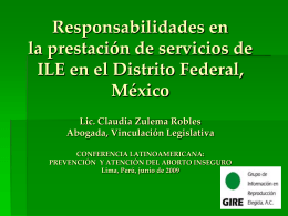 ILE - International Consortium for Medical Abortion