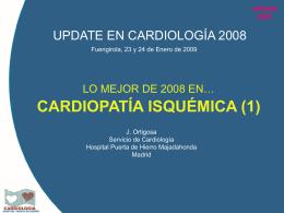 Cardiopatía isquémica I