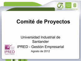 Aprobado - IPRED - Universidad Industrial de Santander