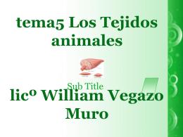 Los+Tejidos+Animales+2º+grado[1]