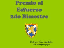 Diapositiva 1 - Colegio San Andrés