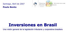 Presentación Estudio de Abogados Brasil