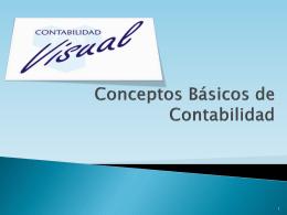 Conceptos Básicos de Contabilidad