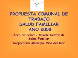 PROGRAMACION2008_C.M.V.M - Servicio de Salud Viña del