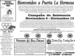 11/02/08 - Puerta La Hermosa