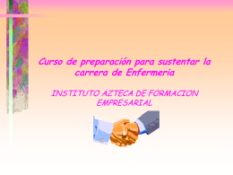 Presentacion Enfermeria