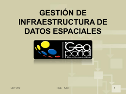IDE_portal - Instituto Geográfico Militar