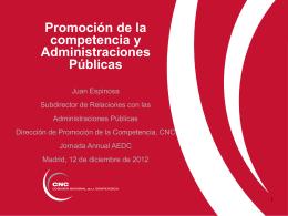121212 Presentacion AEDC Promocion y contratacion