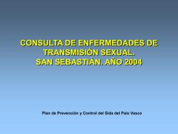 CONSULTA DE ENFERMEDADES DE TRANSMISIÓN SEXUAL