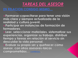 7. TAREAS DEL ASESOR - itepal-dpj
