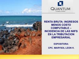 Cierre Tributario 2012 Cámaras de Comercio