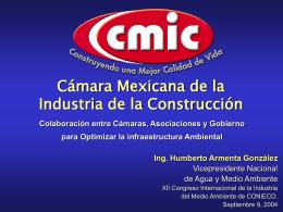 CMIC-CONIECO - Cámara Mexicana de la Industria de la