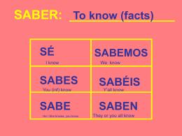 SABER - Senor Rudis 6.0