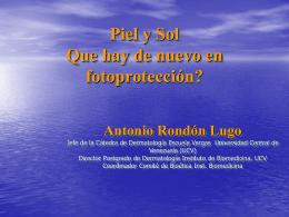 piel - Antonio Rondón Lugo