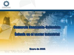 Comercio Venezuela - Colombia: Énfasis en el