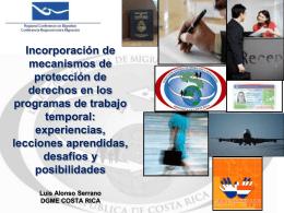 Luis Alonso Serrano, Jefe de Planificación Institucional, Dirección