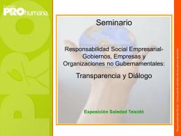 ProHumana, Soledad Teixidó – Presidente