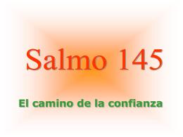 Salmo 145 - divinainfantita.org