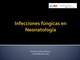 Infecciones fúngicas en Neonatología