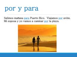 Por/Para - SpanishLanguageWiki