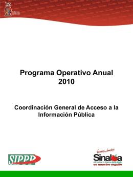 2010 - Portal de Acceso a la Información