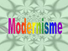 Modernisme - Gordon State College