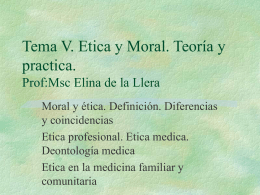 Introduccion.Etica y moral