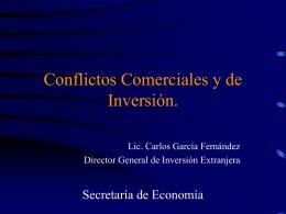 Conflictos Comerciales y de Inversión. N° 16