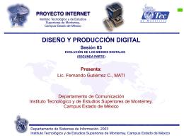 Sesión 03 - Fernando Gutiérrez :: Tecnología y Sociedad