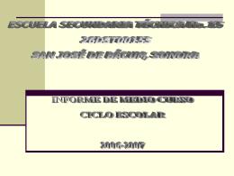 ESCUELA SECUNDARIA TECNICA No. 15 26DST0015S