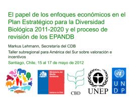Meta 2 y EPANDB - Ministerio del Medio Ambiente