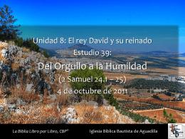 2 samuel - Iglesia Bíblica Bautista de Aguadilla