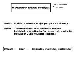 Líder (inspirado) - especializacionsupergestiondirectiva