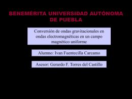 Presentación de PowerPoint - Benemérita Universidad Autónoma