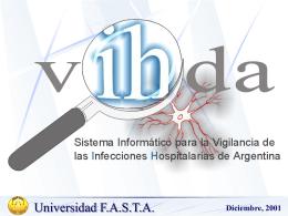 VIHDA: Sistema Informático para la Vigilancia